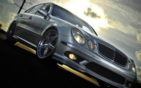 Обои E-Class, Mercedes Benz, AMG, E 5.5