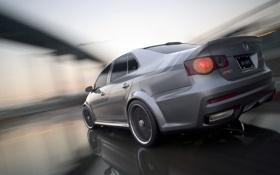 Обои зад, Volkswagen, Jetta