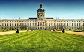 Картинка парк, Германия, большой, купол, Germany, palace, Дворец Шарлоттенбург