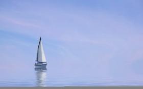 Обои природа, лодка, море