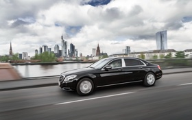 Обои Mercedes-Benz, Maybach, мерседес, майбах, S-Class, X222
