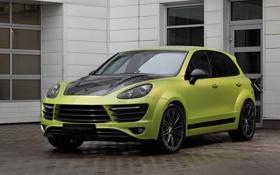 Обои Vantage, Porsche, порше, Cayenne, кайен, TopCar