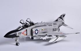 Картинка игрушка, истребитель, многоцелевой, Phantom II, моделька, F-4J, «Фантом» II