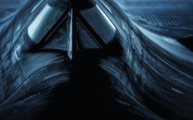 Обои Blackbird, Lockheed, SR-71, сверхзвуковой разведчик, Чёрный дрозд