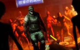 Картинка пистолет, монстры, топор, fps, Killing Floor 2