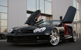 Картинка Mercedes, brabus, roadster, mclaren, slr