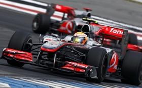 Обои formula1, mclaren, 2010