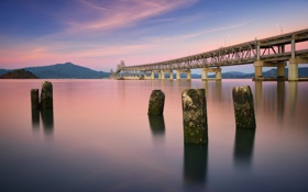 Картинка United States, California, Richmond, San Rafael Bridge