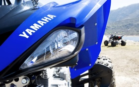 Обои спорт, Yamaha, квадро, yfm250r
