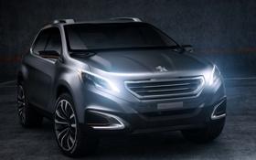 Картинка Concept, урбан, передок, Peugeot, концепт, Crossover, Urban