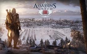 Обои Assassin, ассасин, American, Revolution, Connor