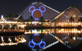 Обои city, город, USA, California, Disneyland, Anaheim