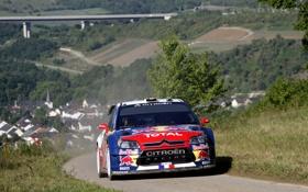 Обои гонка, Машина, Citroen, WRC, Rally, Ралли, Sebastien Loeb