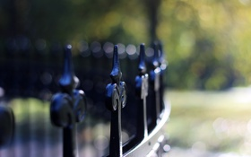 Картинка макро, фон, забор