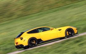 Картинка дорога, движение, феррари, Novitec Rosso, Ferrari FF