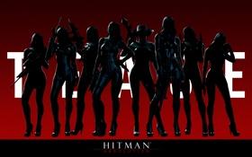 Обои Hitman, Absolution, Nuns, Clan of the Saints
