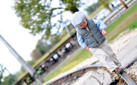 Картинка мальчик, настроение, прогулка