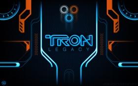 Обои tron, legacy, neon, lines