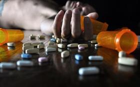 Картинка фон, рука, таблетки