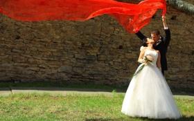 Обои настроение, обои, невеста, жених