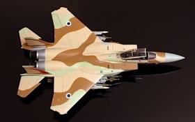 Обои истребитель, моделька, F-15, McDonnell Douglas, Eagle, игрушка
