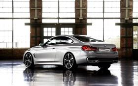 Обои Авто, BMW, Машина, Бумер, Серый, БМВ, Купэ