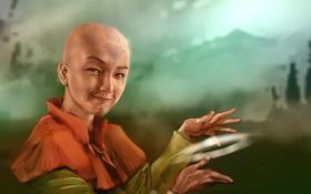 Картинка мальчик, маг, Avatar, Aang