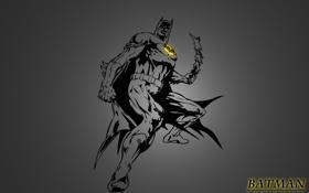 Обои бетмен, темный рыцарь, супергерой, betman