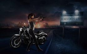 Обои Resident Evil, fanart, Biohazard, Claire Redfield