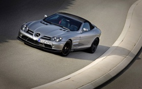 Картинка машины, mercedes, benz, авто обои, мерседесы, SLR McLaren Roadster