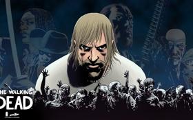 Картинка zombies, comic, rick, The walking dead