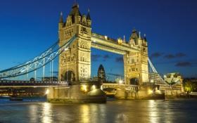 Обои Great Britain, река, Big Ben, England, Вестминстерский дворец, Великобритания, Биг-Бен