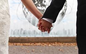 Обои руки, жених, невеста