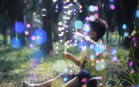 Картинка лето, свет, настроение, малчик