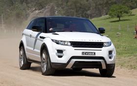 Обои range rover, кроссовер, премиум, evogue