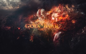Обои kratos, god of war 3, ps3, god of war ascension