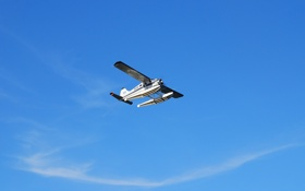 Обои DHC-2 Beaver, самолёт, небо, одномоторный, многоцелевой, лёгкий