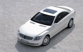 Картинка авто, белый, Мерседес