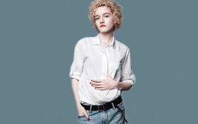 Картинка фотосессия, бренд, Julia Garner, Gap