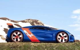 Картинка Concept, концепт, Renault, Alpine, A110-50, ренаулт, алпайн