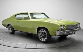 Обои Бьюик, 1971, передок, Muscle car, Hardtop, Мускул кар, Buick