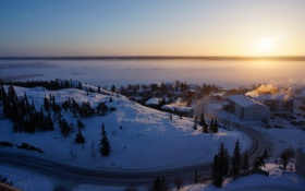 Обои Canada, Yellowknife, Northwest Territories