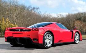 Картинка car, Ferrari, red, supercar, Enzo