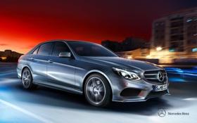 Обои Mercedes-Benz, E-class, 2012, седан, мерседес, W212, Saloon