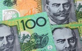 Обои note, dollar, australia, 100
