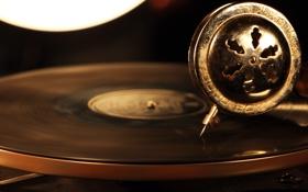 Картинка музыка, фон, Gramophone