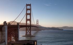 Картинка мост, золотые ворота, США, Сан Франциско, San Francisco, Golden Gate