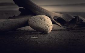 Картинка камень, освещение, тени