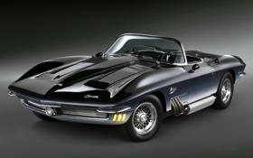 Обои фон, Corvette, Chevrolet, концепт, Шевроле, передок, Concept Car