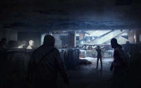 Картинка здание, бандиты, элли, Одни из нас, The Last Of Us